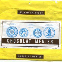 Color postcard/chocolate wrapper