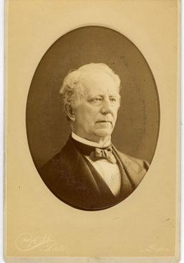 A portrait of Judge Otis Phillips Lord, a Dickinson love interest