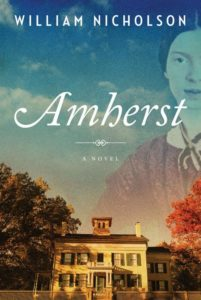 The Cover of William Nicholson's novel Amherst