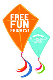 The Free fun Fridays poster