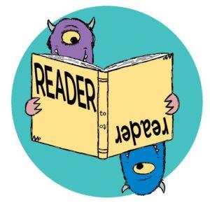 Reader to Reader monsters logo