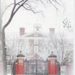 Postcard of the Van Wickle Gates of Brown University