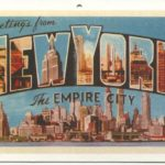 Colored postcard from/of New York City