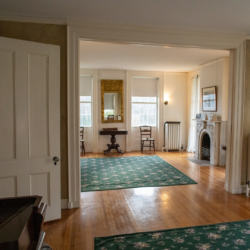 Wide shot of the Parlor at the Homestead
