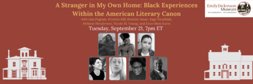 Graphic for A Stranger in My Own Home: Black Experiences Within the American Literary Canon featuring all 7 poets