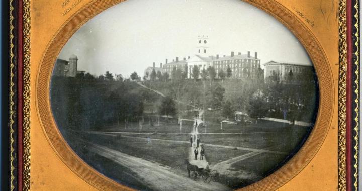 daguerreotype in gilt frame of Amherst College