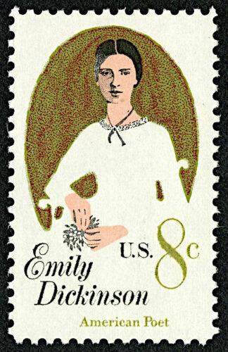 Emily Dickinson Stamp National Postal Museum