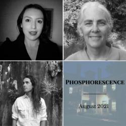 Headshots of August poets
