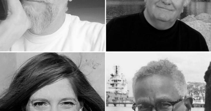 Headshots of April poets