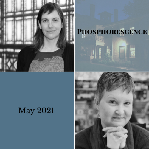 <b>Phosphorescence Poetry Reading Series</b></br>Thursday, May 27, 6-7pm