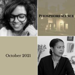 Headshots of October poets