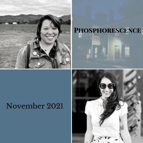 <b>Phosphorescence Poetry Reading Series</b></br>Thursday, November 18, 6-7pm
